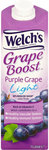 Welchs Boost Light Purple Grape Drink 1L