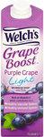 Welchs Boost Light Purple Grape Drink 1L