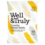 Well And Truly Crunchy Cheese Sticks 100G