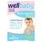 Wellbaby Multivitamin Drops 30ml
