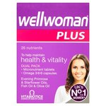 Wellwoman Plus Omega 369 Tablets x 56