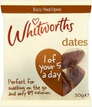 Whitworths Dates 30g