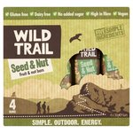Wild Trail Seed and Nut Fruit and Nut Bar 4 x 30g