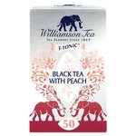 Williamson Tea Black Tea with Peach 50 Bags