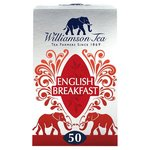 Williamson Tea English Breakfast 50 Bags