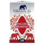Williamson Tea English Breakfast 50 Bags