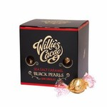 Willies Cacao Dark Chocolate Sea Salt Caramel Black Pearls 150g
