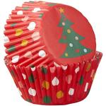 Wilton Christmas Tree Ornaments Baking Cases 75 per pack