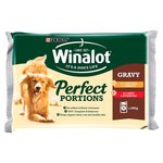 Winalot Wet Pouch Chicken Beef  4 X 100G