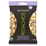 Wonderful Salt And Pepper Pistachios 115g