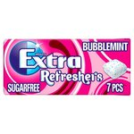 Wrigleys Extra Refreshers Gum Bubblemint 7 Pieces