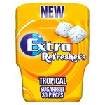 Wrigleys Extra Refreshers Tropical Chewing Gum Sugarfree 30 Pieces 67g