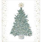 Xmas Festivities Christmas Cards Box 5 per pack