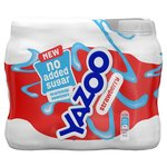 Yazoo No Added Sugar Strawberry 6 X 200 Ml