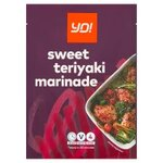 Yo! Sweet Teriyaki Seasoning Marinade 35g