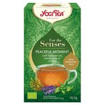 Yogi Tea For the Senses Peaceful Moment Organic 20 Teabags
