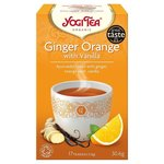 Yogi Tea Ginger Orange with Vanilla Organic 17 Teabags