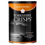 Yorkshire Crisps Black Pepper Luxury Crisps 100g