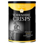 Yorkshire Crisps Natural Sea Salt Luxury Crisps 100g